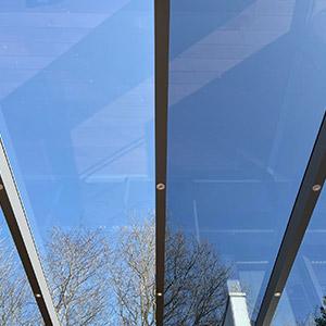 terrasse overdækning i glas